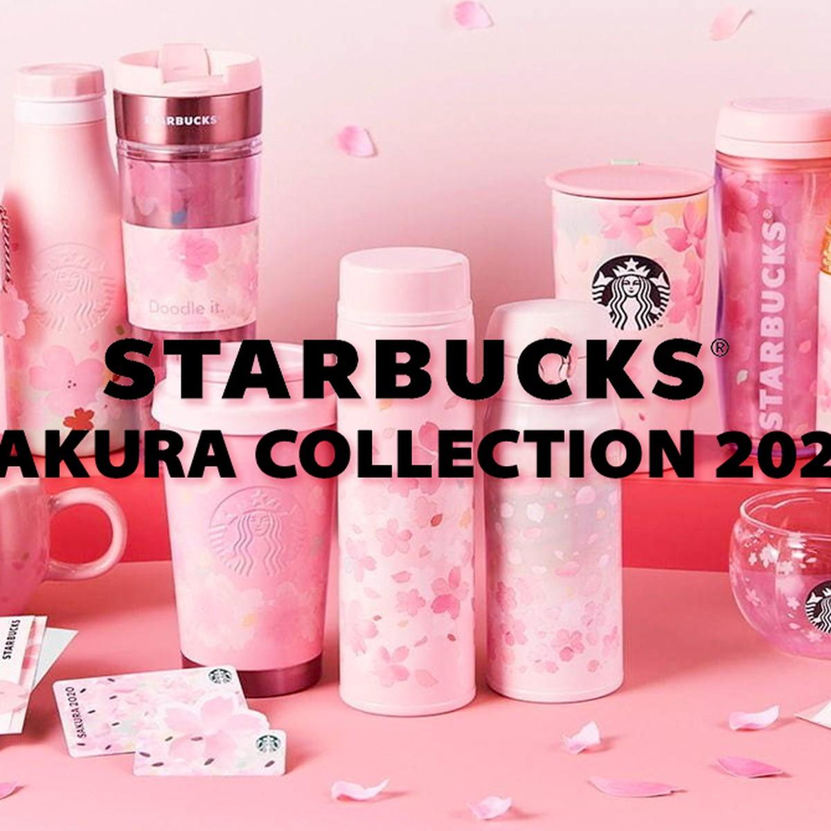 Starbucks Japan SAKURA2020 Starbucks Mini Cup /& Pouch set Limited From JAPAN